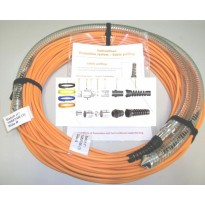 Cable BREAKOUT, LX, LC-FC, 24FO, OS2,10m.