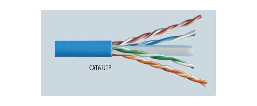 Cable UTP, CAT6, PVC
